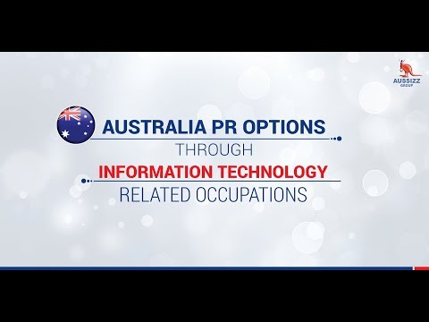 Australia PR Options through Information Technology related Occupations