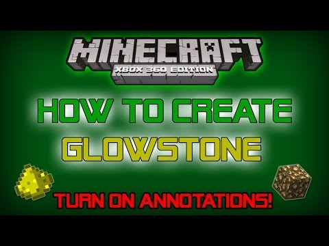 How to Create Glowstone in Minecraft (Easy to Follow) - PC, Xbox 360, Xbox One, PS3, PS4 & More!