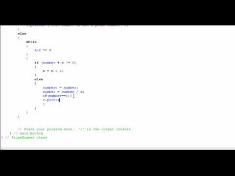 Java - Finding the Largest Prime Factor of a number