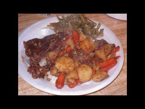 Quick Oven Baked Chuck Steak w Potatoes & Carrots