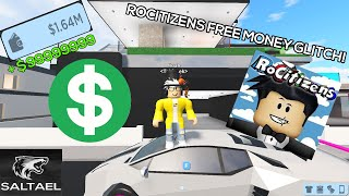 Jailbreak Glitches Roblox 5/30/2019 Roblox Rocitizen Free Money Cheat
