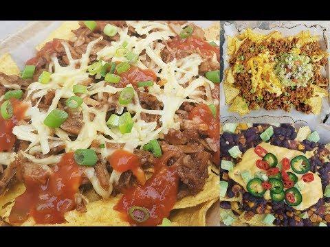 Vegan Nachos 3 ways BBQ Pulled Chick'n, 'Beef' & Beans | FastFoodFriday