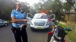 ARGUING WITH POLICE   WHO WILL WIN ???   POLICE vs BIKERS   COOL & ANGRY COPS
