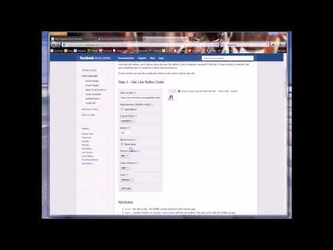 make a facebook like button
