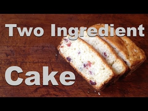 2 Ingredient Cake - Super Simple Cake Recipe - GardenFork