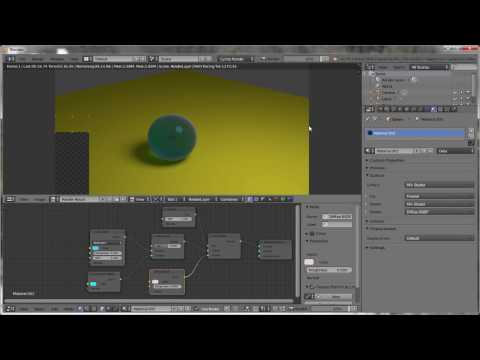 How to make glass ball in 5 minutes? Blender tutorial