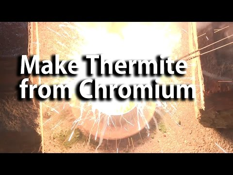 Make Thermite from Chromium Oxide