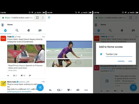 How To Use Twitter New Lite App   New Features
