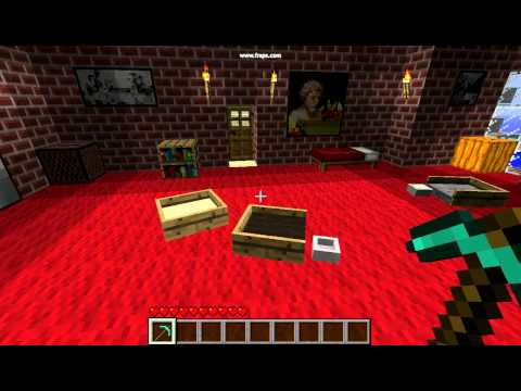 30 Second Minecraft: Mo-Creatures Litter Box & Cat Bed Pickup