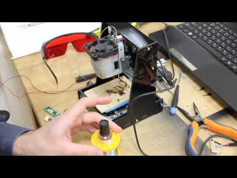 How to do laser soldering using 5 6W diode laser