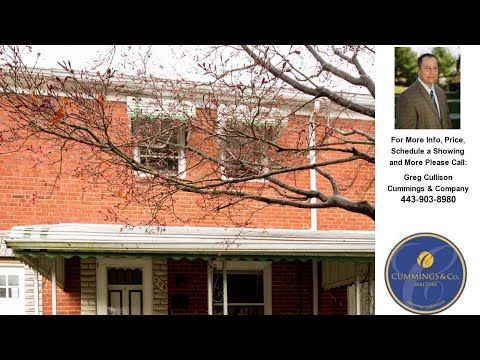 304 GROVETHORN ROAD, BALTIMORE, MD Presented by Greg Cullison.