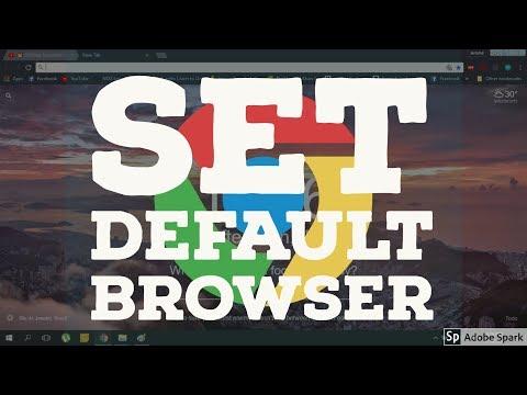 How to Set Default Browser on Windows 10