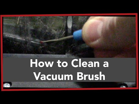 LPC: How to Clean a Vacuum Brush