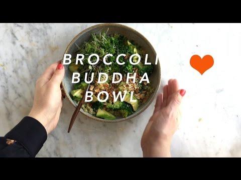 Vibrant VEGAN Double Broccoli Buddha Bowl