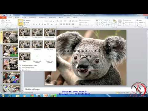 ms powerpoint tutorial in hindi Review Tab, View Tab ms power point