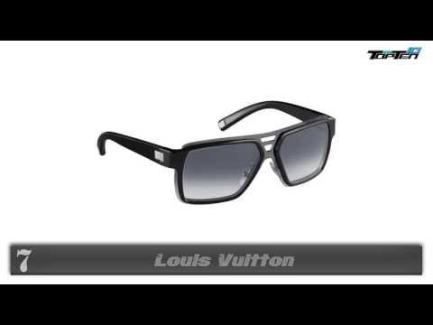 TOP 10 Most Popular Sunglasses Brands For Men in the World 2014