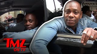 Our Photog Hilariously Tries To Keep Up With Dave Chapelle | TMZ TV