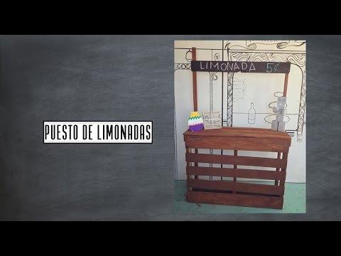 Stand/Puesto de Limonadas con Pallet DIY