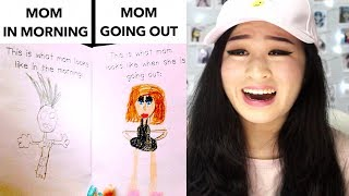 FUNNY KID DRAWINGS ABOUT PARENTS!