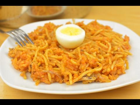 Pasta Recipes: Rice Spaghetti Concoction | Afropotluck