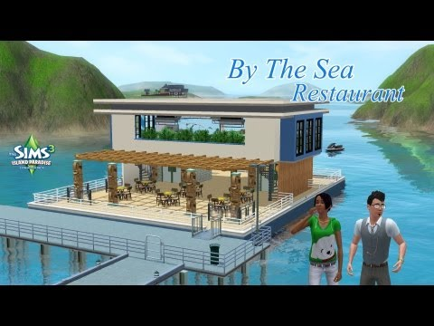 The Sims 3 | Speed Build | Boat Restaurant: By The Sea