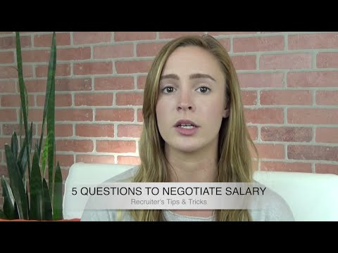 Salary Negotiation: 5 Ways To Get A Higher Salary