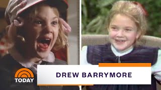 Drew Barrymore Talks 'E.T.' In 1983 | Flashback Friday | TODAY