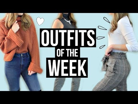 OOTW MARCH | Outfits of The Week