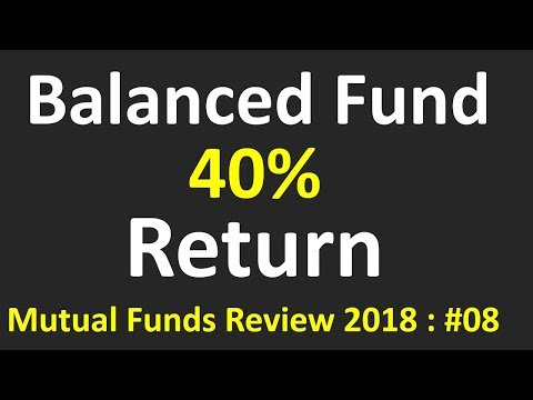 Why this Balanced fund with  40% returns( Mutual funds) | Best balanced fund for SIP | 2018