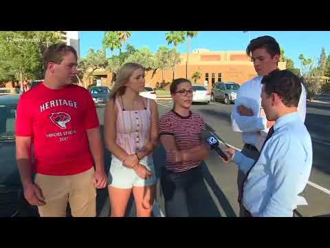 Seniors banned from graduation after prank