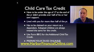 Child Care Tax Credit Calculator For 2012 2013