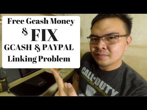Free Gcash Money // How to Fix Gcash to Paypal Linking Problem 2017 Tagalog