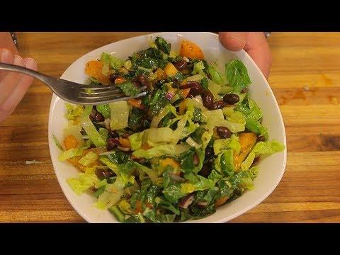 Black Bean Vegan Salad - black beans - vegan protein - fitness recipe