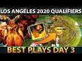 ESL Los Angeles Closed Qualifiers Dota 2 Best Plays Day 3