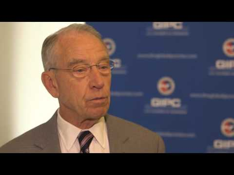 Senator Chuck Grassley: What's the value of a trademark or a copyright?
