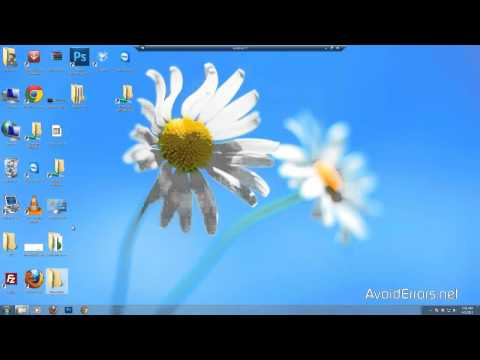 How to Easily Resize Desktop Icons In Windows 7  - 8.1 - 10