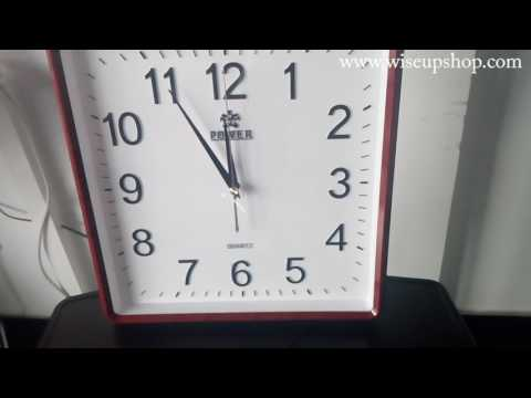 WISEUP WIFI Wall Clock Surveillance Camera Operation Instruction And Footage (Model Number: WIFI06)