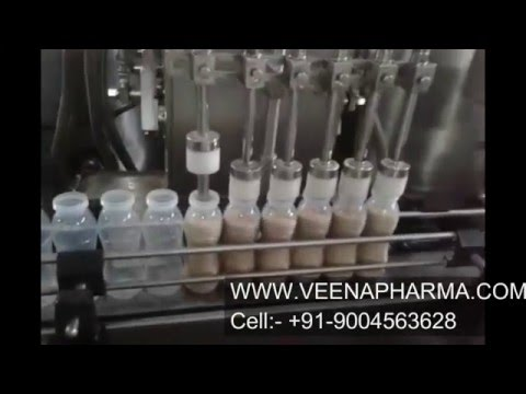 Flavoured milk filling with capping machine for pet bottle, milk filling and capping machine
