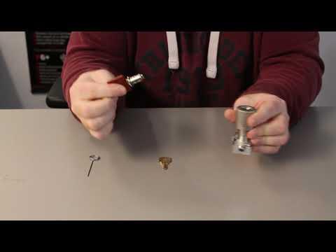 Removing An Espagnolette Locking Handle