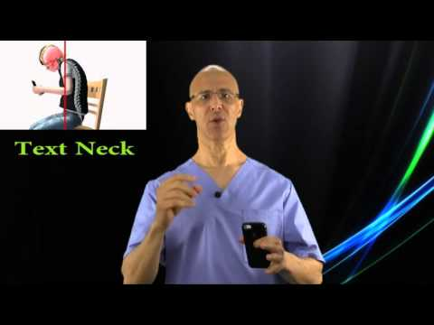 Text Neck:  How to Prevent Your Smartphone from Ruining Your Posture - Dr Mandell