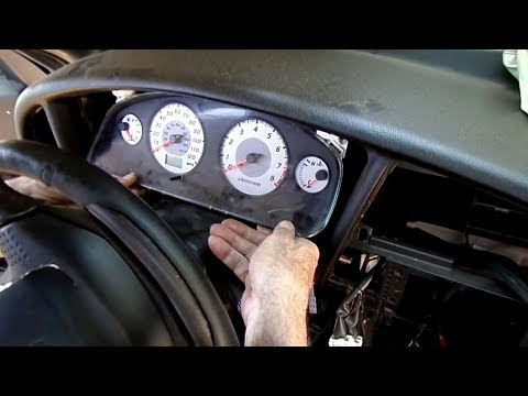 How To Repair Your Nissan Xterra Instrument Cluster | 1998 1999 2000 2001