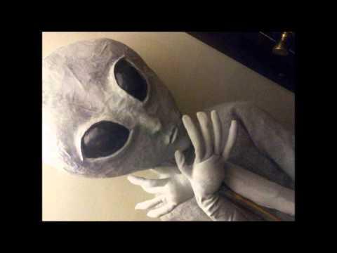 G G Gray Girl Alien Puppet