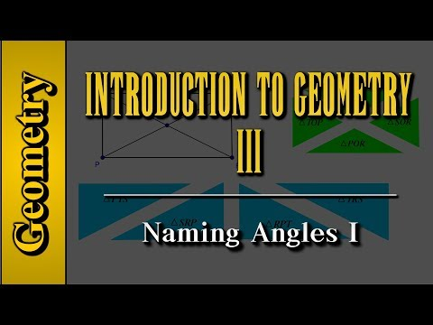 Geometry: Introduction to Geometry (Level 3 of 7)   Naming Angles I