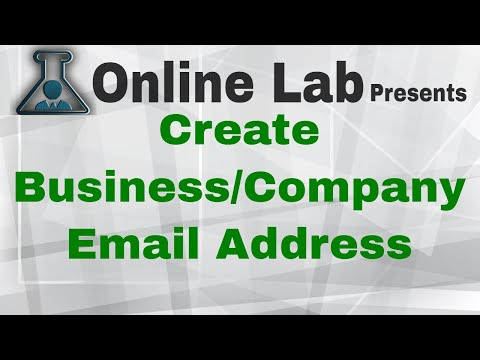 How to Create Business Domain Email Address