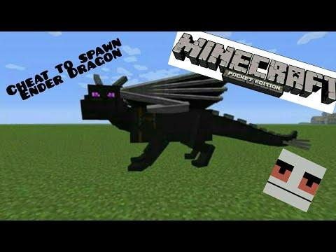 Minecraft: Cheat to spawn an ender dragon.