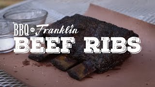 BBQ with Franklin: Beef Ribs