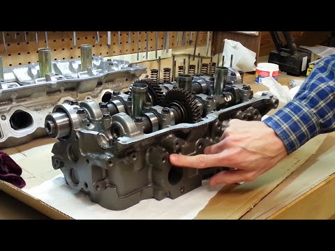 Cylinder Head & Gasket DIY Procedure - Toyota 5VZ-FE - Part 4