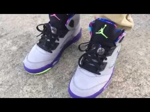 bbee82fde273 2014 Nike Air Jordan 5 V Bel Air Fresh Prince on feet review on  cheapbestmall net