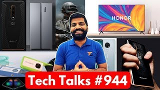 Tech Talks #944 - 7T Pro McLaren, Honor Vision TV India, Flying Electric Car, Realme Sale, OnePlus 8