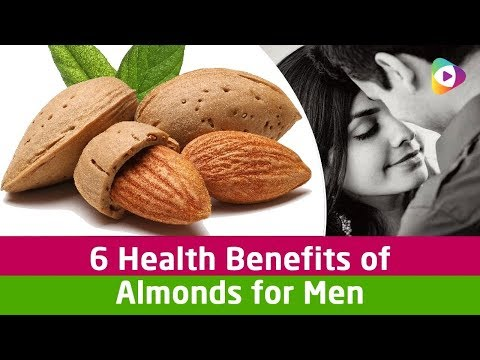 Benefits of almonds for men || almonds benefits in Telugu Tips 2017
